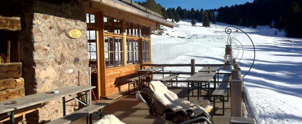 Prima neve alla Malga